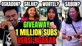 Video BAGI2 JUTAAN RUPIAH 1 JUTA SUBSCRIBERS MP3, 3GP, MP4, WEBM, AVI, FLV Desember 2018