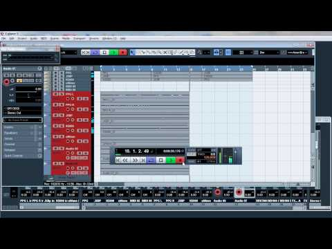 TC Electronics Studio Konnekt 48 recording quality @ 192Khz, using Cubase 5