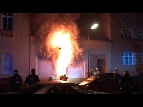 Berlin Reinickendorf: Feuer in der Ditib Moschee