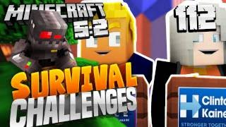 In today's episode of the Minecraft Survival Challenges, we pit Trump Vs Hillary. HBomb: http://youtube.com/HBomb94 Subscribe: http://subscribe.graser10.com ...