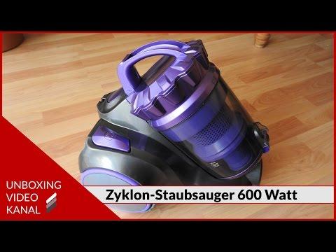 Zyklon-Staubsauger mit 600 Watt - Unboxing Video