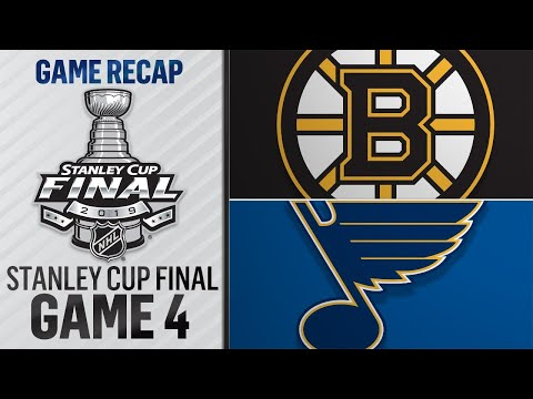 Blues bounce back, even Cup Final with 4-2 win
