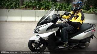 2. Kymco Downtown 200i 本地試騎