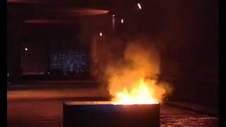 Simulacro de incendio en túnel