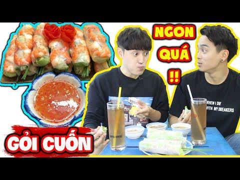 Phản ứng người Hàn khi được ăn Gỏi Cuốn ngon bá cháy !!! - Thời lượng: 11 phút.