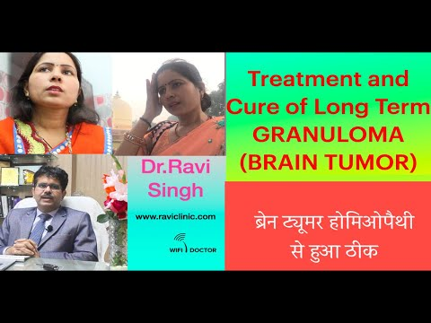 Treatment and Cure of long Term Granuloma ( Brain Tumor)