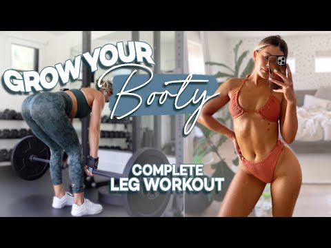 THE ULTIMATE LEG AND BOOTY GROWING WORKOUT | Full Workout Explained