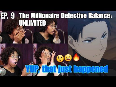 THAT. GOT. CRAZY. | The Millionaire Detective Balance: UNLIMITED Episode 9 Reaction!