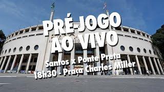 É DIA DE DECISÃO! Na Santos TV, a bola já começa a rolar antes, no Pré-jogo AO VIVO, direto da Praça Charles Miller, em...