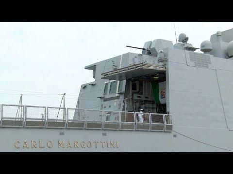 Marine: la frégate Margottini arrive à Abu Dhabi