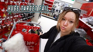 target shopping fail! vlogmas day 9 by Alisha Marie Vlogs
