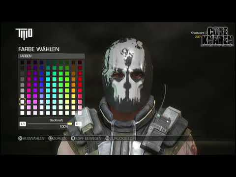Copy of Call Of Duty: Ghosts Mask in Army of Two The Devil´s Cartel - Tutorial