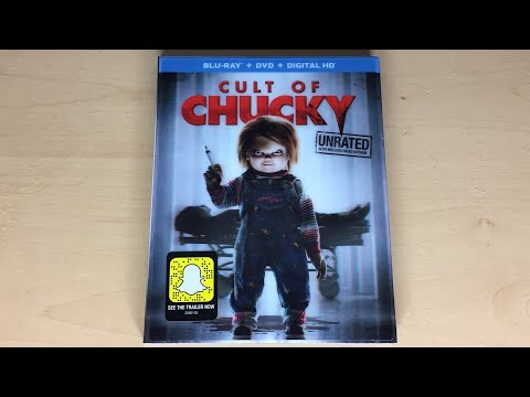 Cult Of Chucky - Blu-ray Unboxing