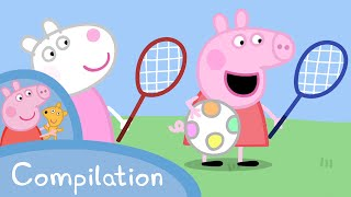 Peppa Pig Episodes - Sports compilation  Peppa Pig Official