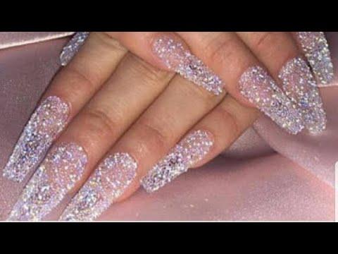 Uñas acrilicas - Las uñas más caras que e realizado bañadas en swarovsky cristal