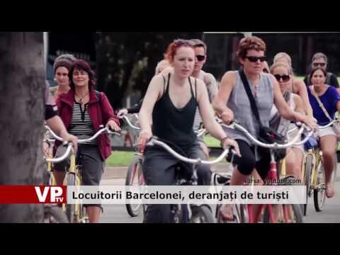 Locuitorii Barcelonei, deranjați de turiști