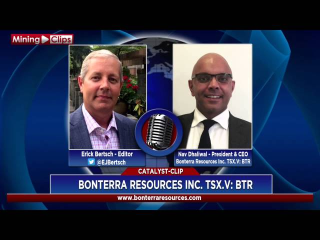 Catalyst-Clip - Bonterra Resources: President & CEO Nav Dhaliwal...