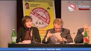 """Francesca Salvador: """"governi collusi o incompetenti! Grillo, ricordi Auriti?"""""""