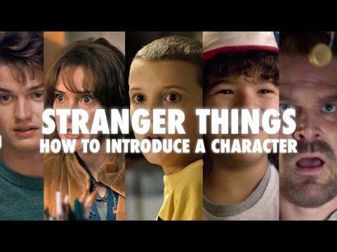 Stranger Things: How to Introduce a Character | Video Essay