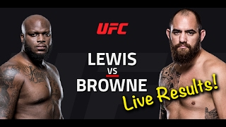 Nonton UFC Fight Night 105: Lewis vs. Browne Film Subtitle Indonesia Streaming Movie Download