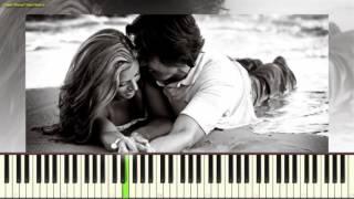 Love story - Francis Lai (Пример игры на пианино) (piano cover)