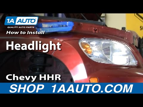 How to Install Replace Headlight Chevy HHR 06-10 1AAuto.com