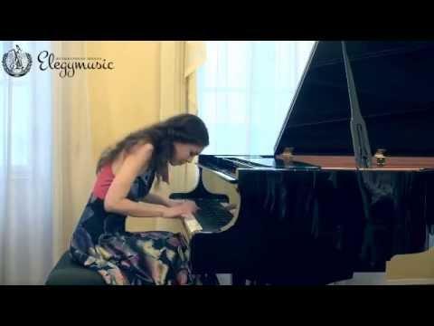 Анастасия Антонова - Р.Шуман. Танцы Давидсбюндлеров, 1 часть