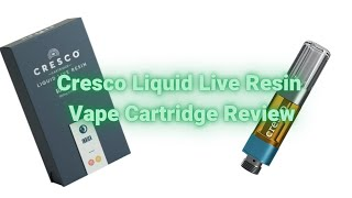 Cresco Cartridges: Liquid Live Resin 'Rest' tested and reviewed. by  Weeats Reviews