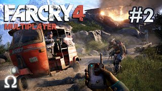 FAR CRY 4 MULTIPLAYER | #2 - YOU'VE GOT TO SEE THE TUK TUK SURPRISE! ;) (60fps)