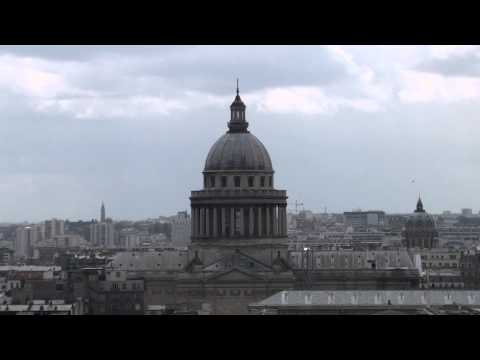 View from the roof of the Notre Dame Cathedral - Paris - HD