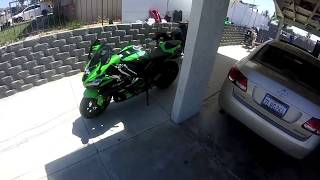7. 16 Year old rides a 1000cc *NEW* ZX10R KRT 2017*