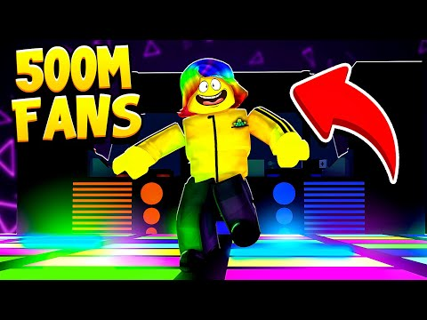 I Became the FASTEST DANCER and got 500,000,000 FANS (Roblox Dancing Simulator)