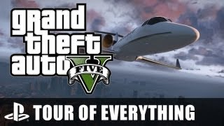 GTA V: A Tour Of Everything - Grand Theft Auto V's Map From End To End - YouTube
