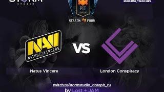 London vs Na'Vi, game 1