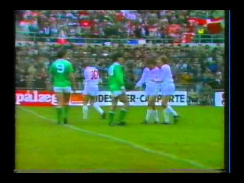 1985 (November 13) Republic of Ireland 1-Denmark 4...