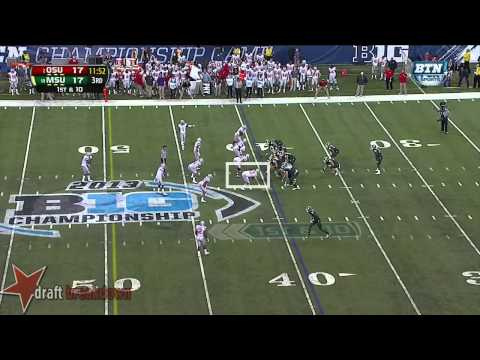 Joey Bosa vs Michigan St. 2013 video.