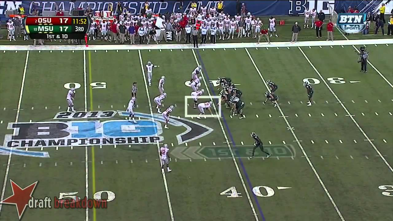 Joey Bosa vs Michigan State (2013)
