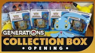 Family Pokemon TCG Mythical Manaphy Collection Box Opening Battle ! Hard to find boxes!? by Papa Blastoise