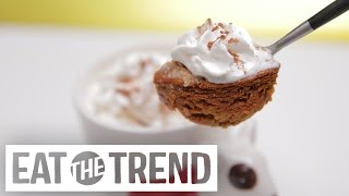 How to Make Microwave Mug Pumpkin Pie in 3 Minutes | Eat the Trend by POPSUGAR Food