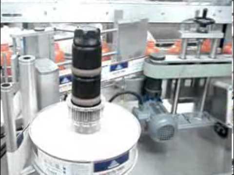 Çift Taraflı ve Silindirik Şişe Etiketleme Makinası