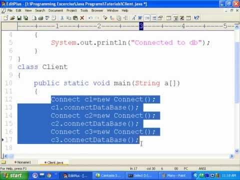 Java Tutorial For Beginners 8 Static Methods.wmv