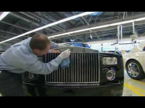 How It's Made - Luxury Cars (Rolls Royce Phantom)