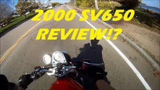 2. My 2000 SV650 Review