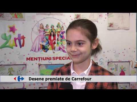 Desene premiate de Carrefour