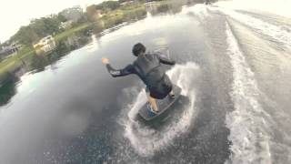 6. 2013 SEA-DOO 'DOO IT' WAKE SERIES - NIKE's Andrew Pastura Frontside Big Spin How To
