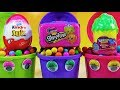 Trash Can Surprises Kinder Joy Surprise Egg Shopkins Lunch Box Food Fair Squinkies 'do Drops