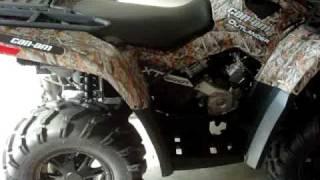 10. 2010 Canam 800r XT