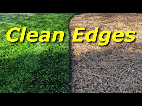 How To Have Clean Edges In A Lawn - PART 4 (видео)