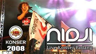 Video KEREN !! NIDJI HOLIQ PADANG NAIK KEATAS PANGGUNG DAN BERNYANYI (Live Konser) MP3, 3GP, MP4, WEBM, AVI, FLV Januari 2018