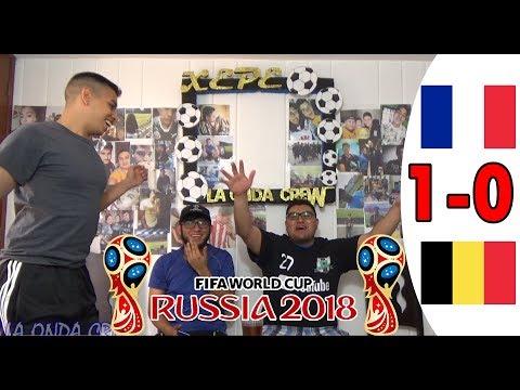 ¡DESPEDIDA BELGA! REACCIONES FRANCIA VS BÉLGICA 1-0